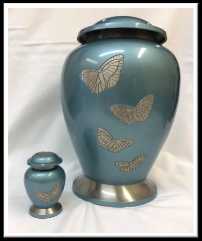 Akbar Butterfly Urn $189