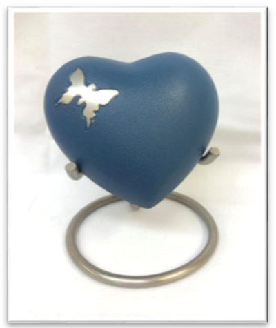 Butterfly Heart with Stand